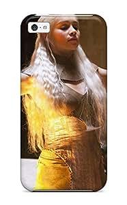New MBSXJMb450pxzUR Game Of Thrones Daenerys Targaryen Tpu Cover Case For Iphone 5c