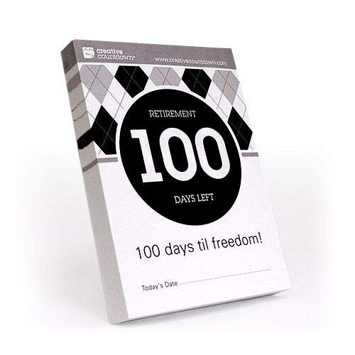 100-day Countdown to Retirement Tear Off Calendar -