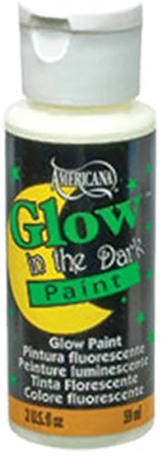Deco Art Americana Medium Glow in the Dark Paint - 2 oz Crafts Fabric Paint]()