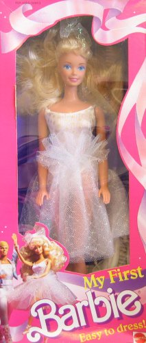 Barbie My First Barbie Doll - Ballerina - Easy To Dress! - Doll Barbie 1988