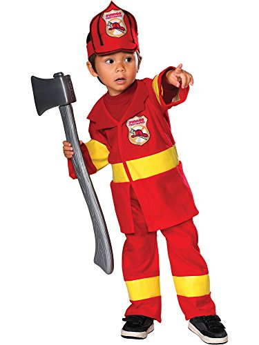 Jr Firefighter Costume: Toddler's Size 2T-4T -