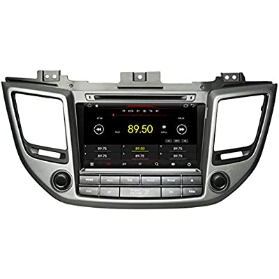 Autosion Android 9 1 Car DVD Player GPS Stereo Head Unit Navi Radio Multimedia Wifi for Hyundai Tucson ix35 2015 2016 2017 Support Steering Wheel Control