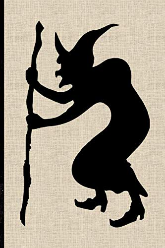 Halloween Notebook: Silhouette Witch Lined Notebook]()