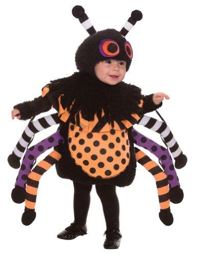 This Guy Costumes Baby's Spider, Black/Orange/Purple, 3T-4T