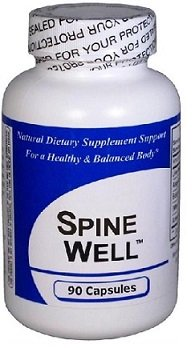 Spine-Well (90 Capsules) 2 Pack- Concentrated Herbal Blend - CONTAINS NO ''Beef Bovine Gelatin Capsules'' or Magnesium Stearate* by Get Well Natural, LLC