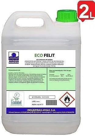 ECOFELIT ECOLABEL 2L. Detergente desincrustante antical ECOLOGICO ...