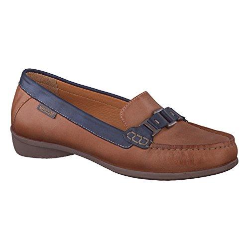 Mephisto Tifanie Ladies Loafer UK Size 5 Hazelnut Leather Bd4gfwoOBU