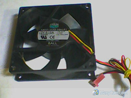 Cooler Master A8025 25Ab 3Bn Pi Mgt8012mc 12V 0 15A Computer Case 3 Pin Cooling Fan  E187236  80Mm X 80Mm X 25Mm