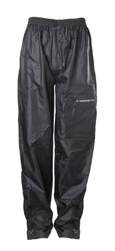 Sceed Pantalones para Lluvia sin Forro, Negro, M Sceed 42 081520M