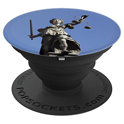 Lady Justice - PopSockets Grip and Stand for Phones and (Justice Stands)