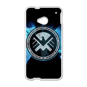 s.h.i.e.l.d HTC One M7 Cell Phone Case White 8You010952