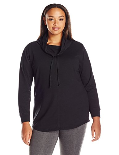 Just-My-Size-Womens-Plus-Size-French-Terry-Cowl-Neck-Tunic