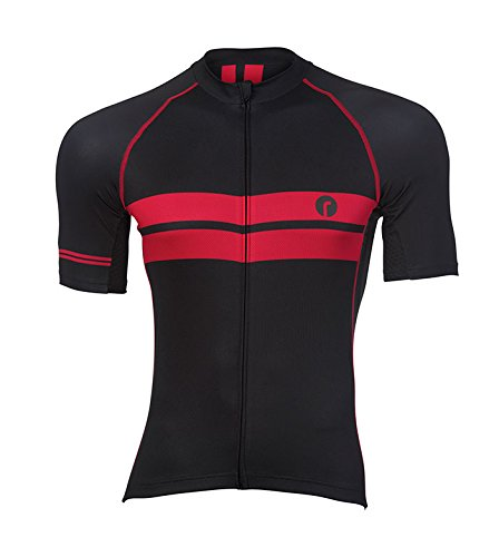 Ride Kleidung Tec Stripe Jersey schwarz weiß X-large