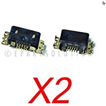 ePartSolution-2 X Nokia Lumia 820 Charger Charging Port Dock Connector USB Port Replacement Part USA Seller