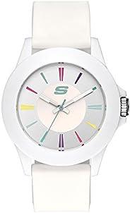 Skechers Rosencrans - Reloj deportivo casual de cuarzo medio, plástico y silicona para mujer