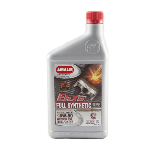 Amalie  5W-50 Elixir Full Synthetic Motor Oil - 1 Quart Bott