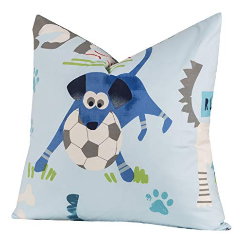 Crayola Chase Your Dreams Polyester Square Decorative Toss Pillow 20 x ()
