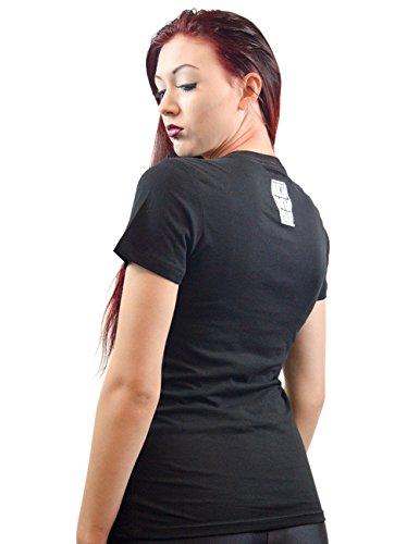 Akumu Ink - Camiseta - Básico - Manga corta - para mujer negro