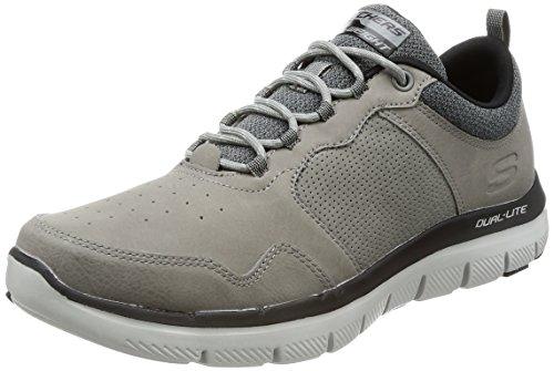 Skechers Flex Advantage 2.0 Dali Mens Sneakers Charcoal DYwt3WmS
