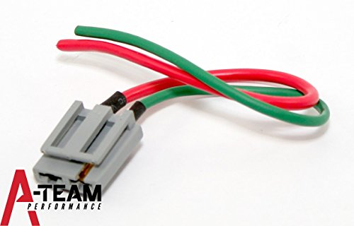 70072 HEI Distributor Battery and Tachometer Pigtail Harness 12V ()