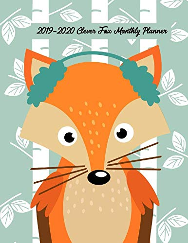 2019-2020 Clever Fox Monthly Planner: 24 Months Calendar Planner - Pretty Simple Planner For Staying on Track, Self Management & Personal Growth