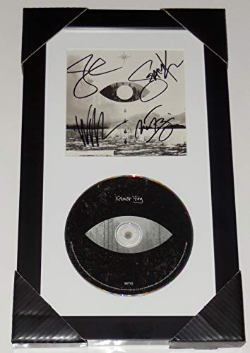 (Alice In Chains Autographed CD (Framed & Matted) - Rainier Fog - Jerry Cantrell, Sean Kinney, Mike Inez, William DuVall!)