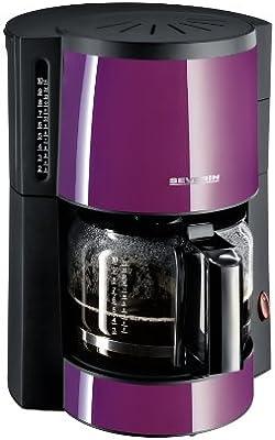 Severin 4307 - Cafetera Púrpura y Negra: Amazon.es: Hogar