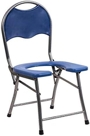 介護用ポータブルトイレ椅子 簡易 トイレ ポータブル 便座 チェア 携帯用洗面所の 折り畳み式 キャンプやハイキングのための 折りたたみ式トイレ 滑り止めウェアラブル、旅行、男女兼用