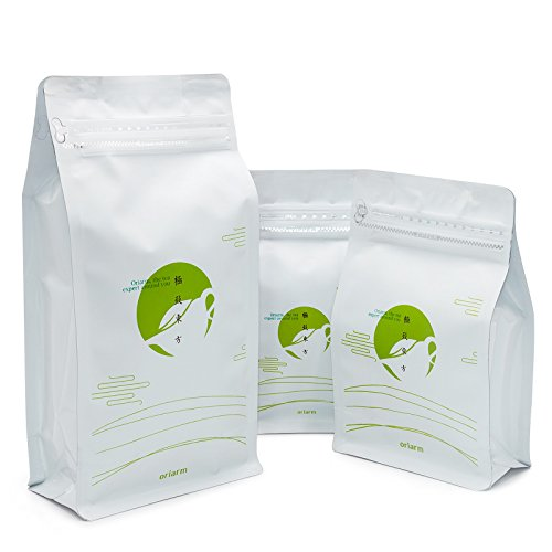 Oriarm 1kg Tie Guan Yin Oolong Tea from Anxi Fujian, Chinese Tieguanyin Oolong Green Tea Loose Leaf, Natural Whole Leaves Rich Antioxidants Brew Hot Tea or Iced Tea by Oriarm (Image #3)