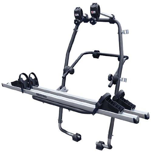 Menabo 000063400000 Stand Up Soporte de Bicicletas en Acero Inoxidable con 2 Carriles en Aluminio: Amazon.es: Coche y moto