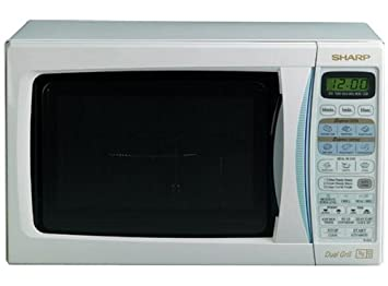 sharp r 654 touch control grill microwave oven amazon co uk rh amazon co uk Sharp Carousel Microwave Sharp Microwave Contact