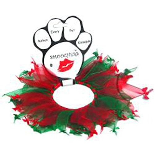 Mirage Pet Products Collar 25-15 LG Christmas Bones Smoocher Large . from Mirage Pet Products