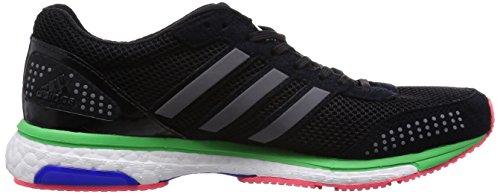 adidas Adizero Adios Boost 2Mujeres de zapatillas de running–SS15 Negro/Verde
