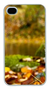Amanita Forest PC Case White for iPhone 4 4s