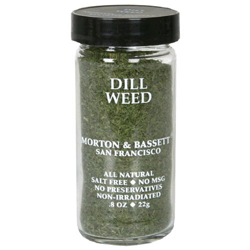 Morton & Bassett Dill Weed, .8-Ounce Jars (Pack of 3)