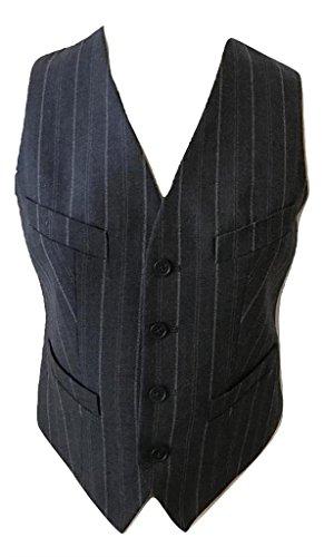 Ralph Lauren Wool Vest (Polo Ralph Lauren Women $198 NWT Dark Gray Vest Button Waistcoat Wool Blend (10))