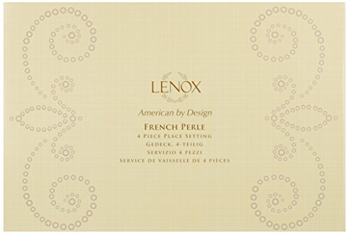 Review Lenox French Perle 4-Piece