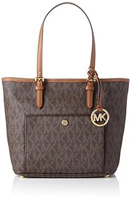Michael Kors Mk Jet Set Signature Shoulder Bag: Handbags: Amazon.com
