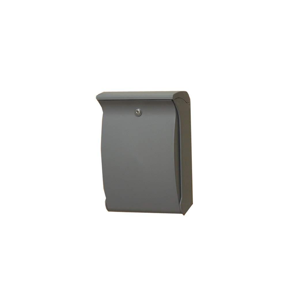 YQCS●LS 古典的な金属のポストボックス。-ビンテージ手紙郵便ポストボックス、郵便局用ボックス   B07TQ8PNYG