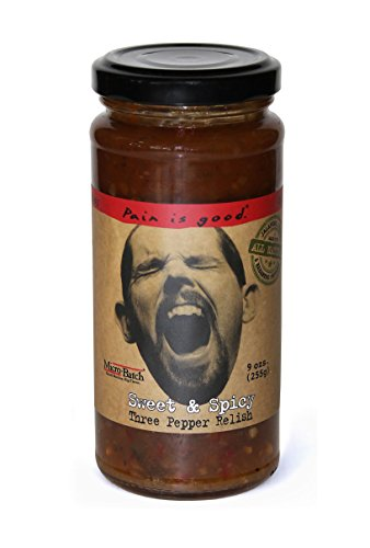 Pain is Good Sweet & Spicy Three Pepper Relish - 9 (Hot Relish)