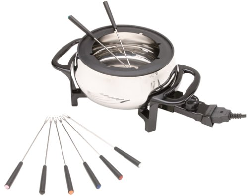 Rival FD350S Stainless Steel Electric Fondue by Rival