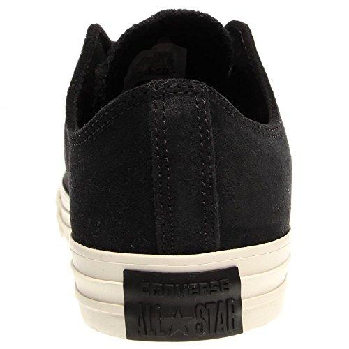 Converse - Zapatillas de cuero unisex Black