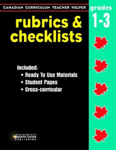 Rubrics & Checklists Gr.1-3 Georgopoulos  Demetra/Watson  Renee
