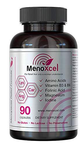 Menoxcel | 90 Capsules | No Gluten, Lactose, or Preservatives