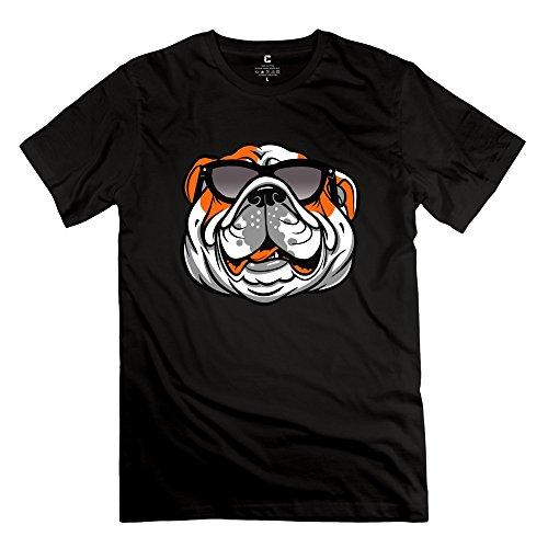 hm Men's T-Shirts Dog Wearing Sunglasses Size XS - Sunglasses Biggest Dog