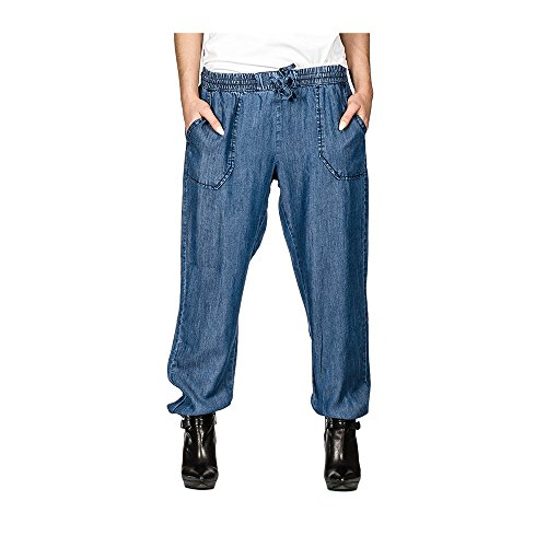 24859a512d6 Suko Jeans for Women Pull-On Tencel Baggy Pants with Elastic Drawstring  Waist durable modeling