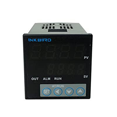 Inkbird ITC-106VH PID Temperature Thermostat Controllers, Fahrenheit & Centigrade, 100ACV - 240ACV for Sous Vide, Home Brewing, Oven, Incubator