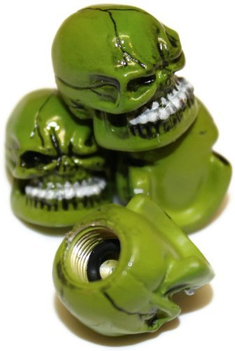 skull valve caps - 5