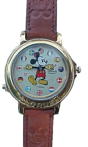 Mickey Mouse LORUS Musical watch plays