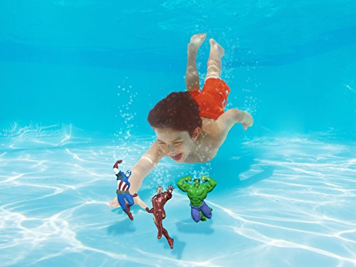 SwimWays Marvel Avengers Assemble Dive Characters